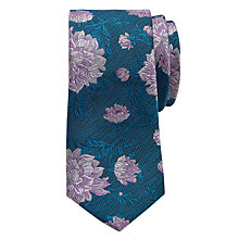 Buy Ted Baker Nerther Floral Silk Tie Online at johnlewis.com