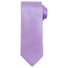 Buy John Lewis Mini Geo Grid Silk Tie Online at johnlewis.com