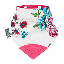 Buy Cheeky Chompers Baby Neckerchew, Floral Online at johnlewis.com