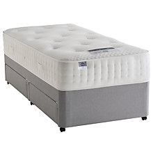 Buy Silentnight Special Mirapocket 2000 Memory Foam Divan Base and Mattress Set, Single Online at johnlewis.com