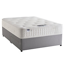 Buy Silentnight Special Mirapocket 2000 Memory Foam Divan Base and Mattress Set, Double Online at johnlewis.com