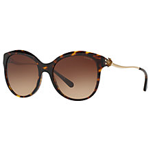Buy Coach HC8189 Oval Sunglasses, Tortoise/Brown Gradient Online at johnlewis.com