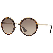 Buy Prada PR 50TS Round Sunglasses Online at johnlewis.com