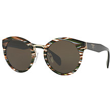 Buy Prada PR 05TS Oval Sunglasses Online at johnlewis.com