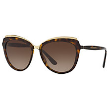 Buy Dolce & Gabbana DG4304 Cat's Eye Sunglasses Online at johnlewis.com