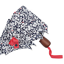 Buy Joules Ditsy Print Umbrella, Navy/White Online at johnlewis.com