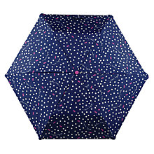Buy Radley Dog Dot Print Umbrella, Navy/Multi Online at johnlewis.com