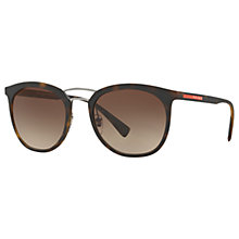 Buy Prada Linea Rossa PS 04SS Oval Sunglasses Online at johnlewis.com