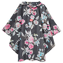Buy Joules Floral Poncho, Multi Online at johnlewis.com