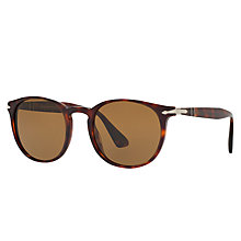Buy Persol PO3157S Polarised Oval Sunglasses Online at johnlewis.com