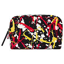 Buy MAC Street Scene Medium Makeup Bag, Black Online at johnlewis.com
