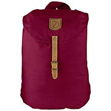 Buy Fjallraven Greenland Small Backpack, Plum Online at johnlewis.com