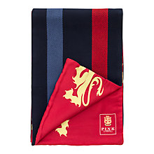 Buy The Lions Collection by Thomas Pink Siggins Silk-Merino Scarf, Red/Blue Online at johnlewis.com