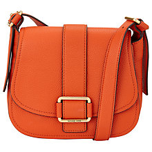 Buy MICHAEL Michael Kors Maxine Large Leather Across Body Bag Online at johnlewis.com