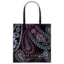 Buy Ted Baker Ninacon Shopper Bag, Black Online at johnlewis.com
