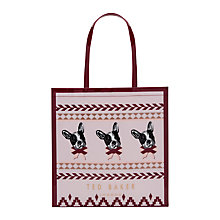 Buy Ted Baker Dolcon Fair Isle Large Shopper Bag Online at johnlewis.com