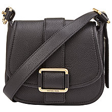 Buy MICHAEL Michael Kors Medium Leather Across Body Bag Online at johnlewis.com