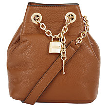 Buy MICHAEL Michael Kors Hadley Medium Leather Messenger Bag Online at johnlewis.com