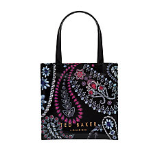 Buy Ted Baker Kimicon Shopper Bag, Black Online at johnlewis.com