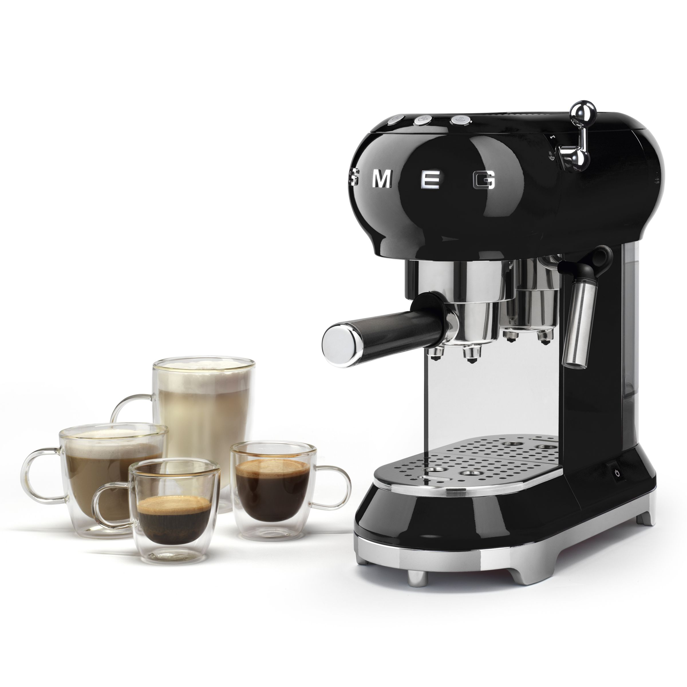 John Lewis Hob Coffee Maker : Buy Smeg ECF01 Coffee Machine John Lewis