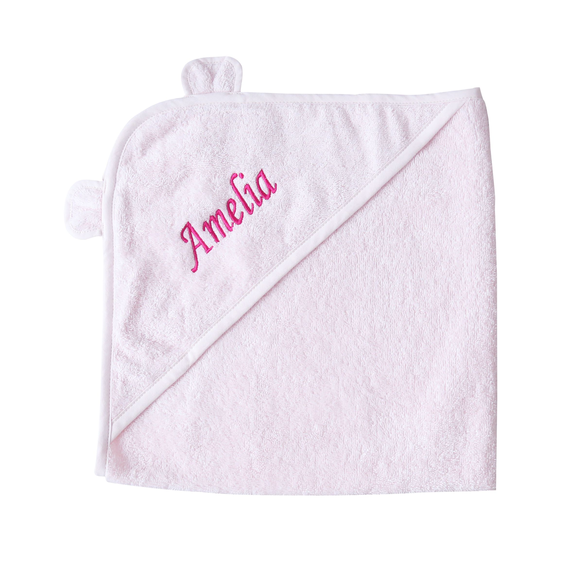 My 1st Years My 1st Years Personalised Hooded Towel With Ears