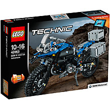 Buy LEGO Technic 42063 BMW R 1200 GS Adventure Online at johnlewis.com
