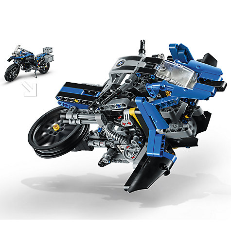 buy lego technic 42063 bmw r 1200 gs adventure john lewis. Black Bedroom Furniture Sets. Home Design Ideas