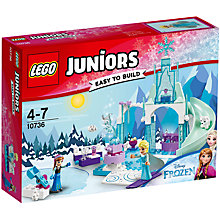 Buy LEGO Junior 10736 Anna & Elsa Winter Playground Online at johnlewis.com