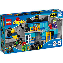 Buy LEGO DUPLO 10842 Batcave Challenge Online at johnlewis.com