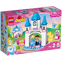 Buy LEGO DUPLO 10855 Disney Princess Cinderella Castle Online at johnlewis.com
