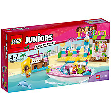 Buy LEGO Juniors 10747 Andrea and Stephanie's Beach Holiday Online at johnlewis.com