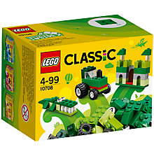 Buy LEGO Classic 10708 Creative Bricks, Green Online at johnlewis.com