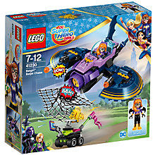 Buy LEGO DC Super Hero Girls 41230 Batgirl Batjet Chase Online at johnlewis.com