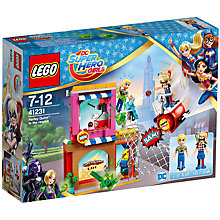 Buy LEGO DC Super Hero Girls 41231 Harley Quinn to the Rescue Online at johnlewis.com