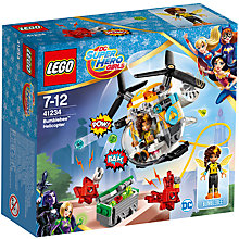 Buy LEGO DC Super Hero Girls 41234 Bumblebee Helicopter Online at johnlewis.com