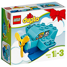 Buy LEGO DUPLO 10849 My First Plane Online at johnlewis.com
