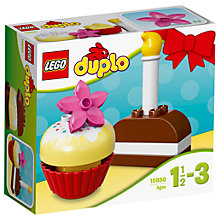Buy LEGO DUPLO 10850 My First Cakes Online at johnlewis.com
