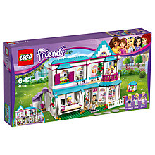Buy LEGO Friends 41314 Stephanie's House Online at johnlewis.com