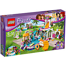 Buy LEGO Friends 41313 Heartlake Summer Pool Online at johnlewis.com