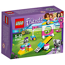 Buy LEGO Friends 41303 Puppy Playground Set Online at johnlewis.com