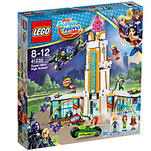 Buy LEGO DC Super Hero Girls 41232 Super Hero High School Online at johnlewis.com