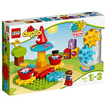 Buy LEGO DUPLO 10845 My First Carousel Online at johnlewis.com