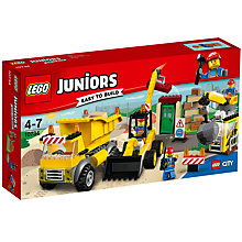 Buy LEGO Juniors 10734 City Construction Site Online at johnlewis.com