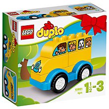 Buy LEGO DUPLO 10851 My First Bus Online at johnlewis.com
