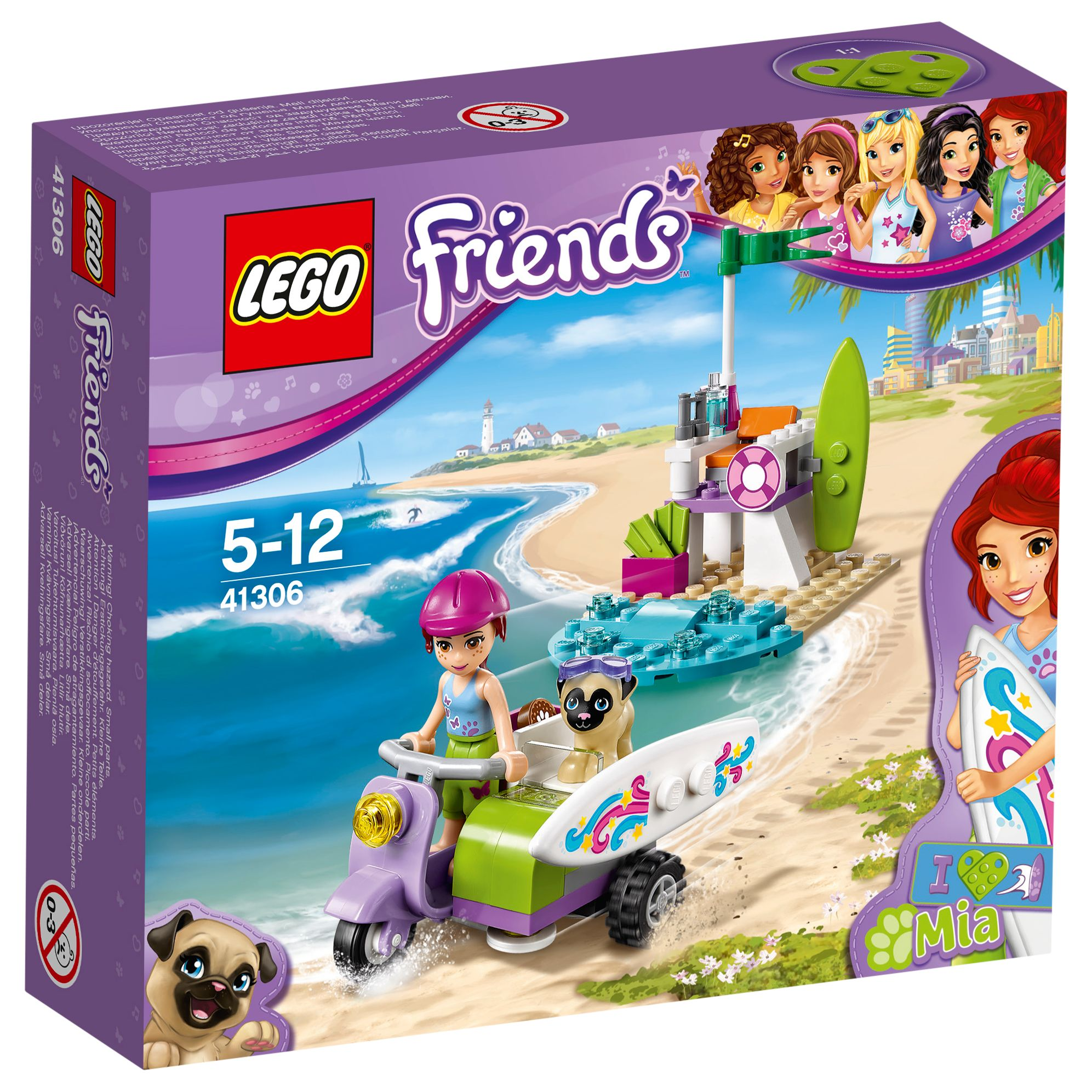 Lego LEGO Friends 41306 Mia's Beach Scooter