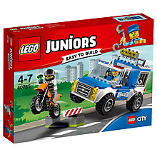 Buy LEGO Juniors 10735 Police Truck Chase Online at johnlewis.com