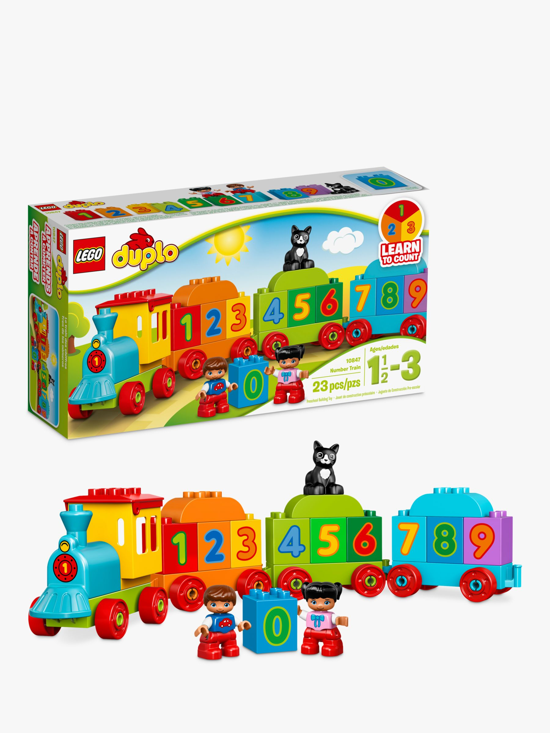 Lego LEGO DUPLO 10847 Number Train