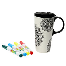 Buy Dexam Mandala Mania Travel Mug Online at johnlewis.com