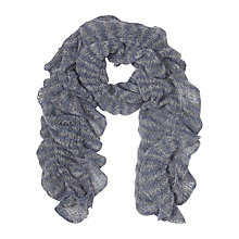 Buy East Knitted Ruched Scarf Online at johnlewis.com