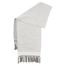 Buy Hobbs Hetty Scarf, Grey Online at johnlewis.com